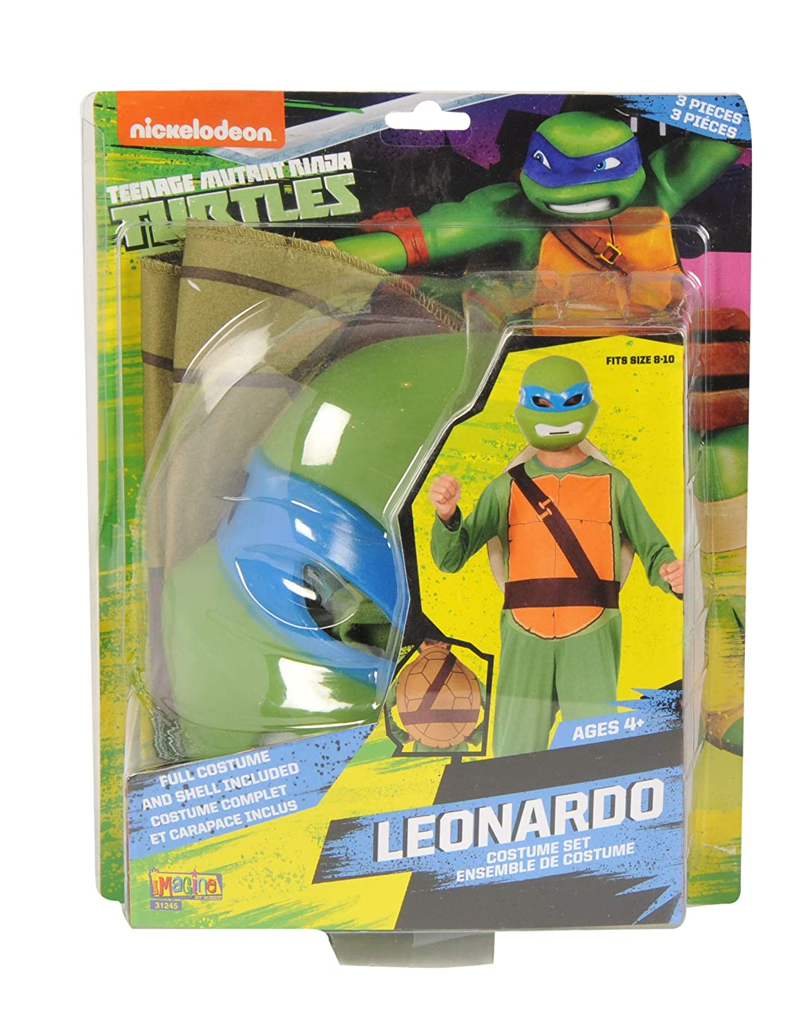 Amazon.com: Teenage Mutant Ninja Turtles Leonardo Acción ...