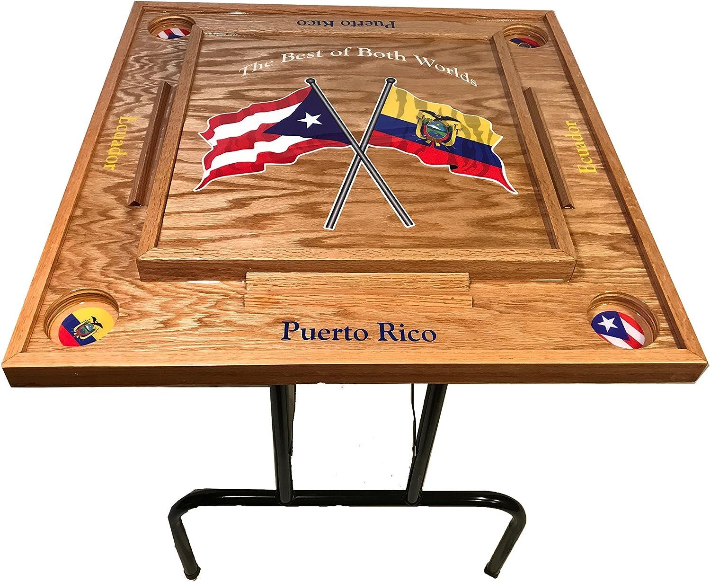 Puerto Rico /& Cuba Domino Table