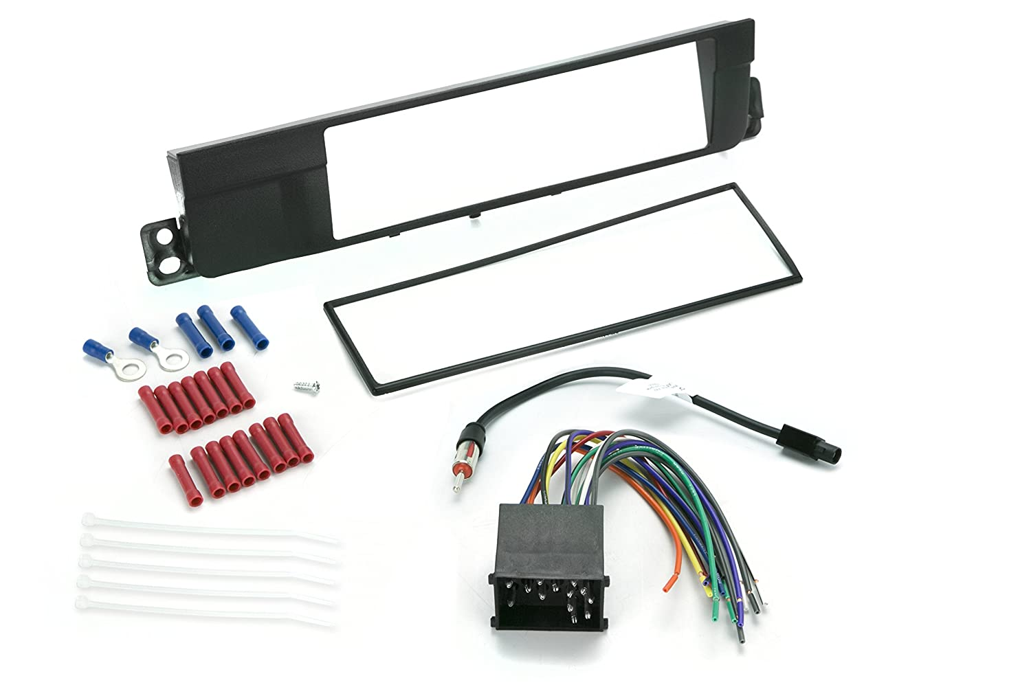 Install Centric ICBW3BN BMW 3-Series 2002-05 Complete Installation Solution for Car Stereos SCOSCHE 0107ICBW3BN