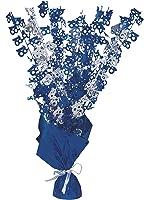 Glitz Blue 18th Birthday Balloon Weight Centrepiece