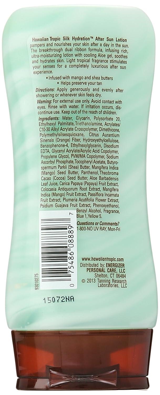 After Sun Skin Care 180 Hawaiian Tropic Silk Hydration Air Soft After Sun Lotion Coconut Papaya Health & Beauty