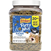 Purina Friskies Party Mix Adult Cat Treats - 20 oz. & 30 oz. Canisters
