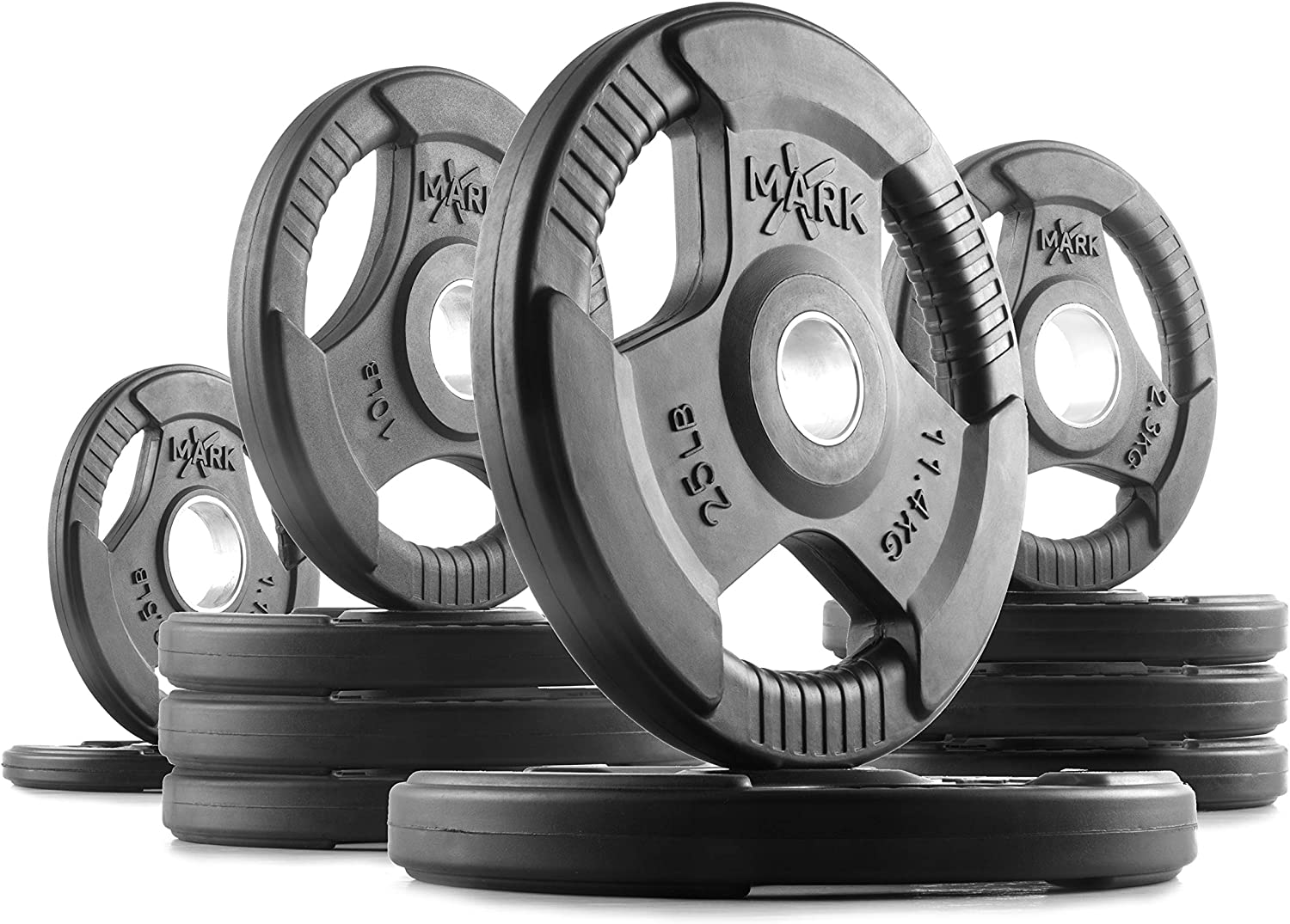 XMark Fitness Olympic Weigh Plates - BEST OVERALL