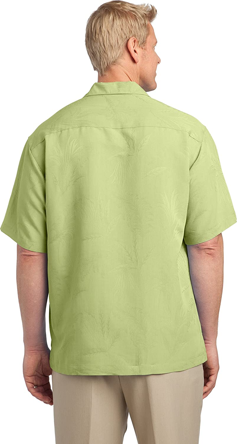 Port Authority Patterned Easy Care Camp Shirt