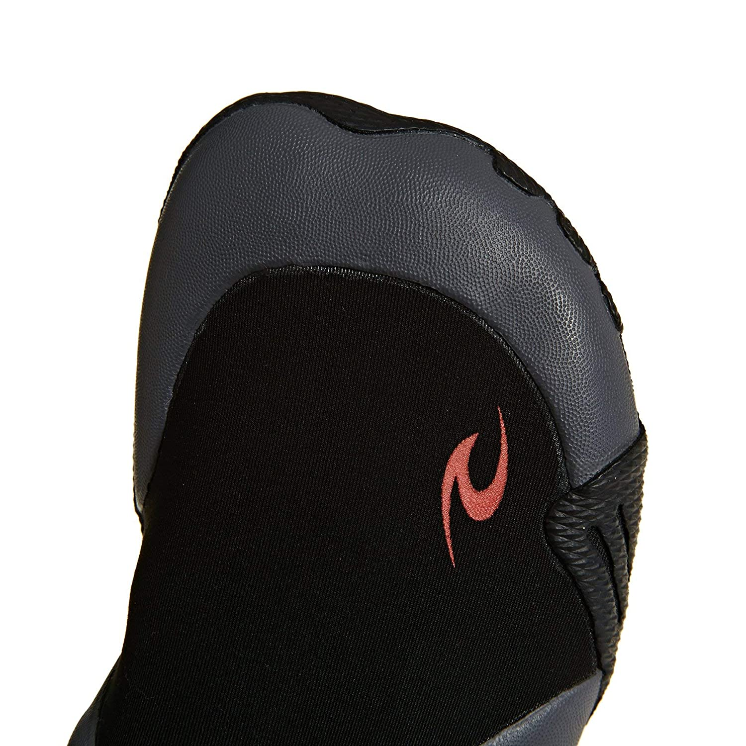 Unisex Rip Curl Dawn Patrol 5MM Round Toe Neoprene Wetsuit Boots Shoes SOS Black Sensitive Sole Easy Slide on System