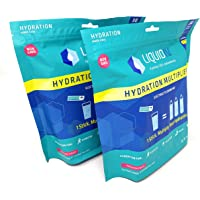 Liquid I.V. Hydration Multiplier, Electrolyte Powder, Easy Open Packets, Supplement Drink Mix (Passion Fruit, 60 Count)