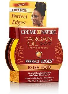 amazon com creme of nature argan oil perfect edges 2 25 ounce