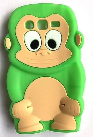 SKS Distribution® verde silicona mono Monkey FUNDA / CARCASA ...