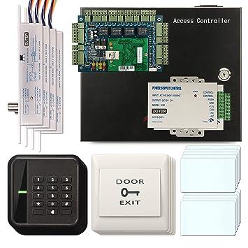 El Salvador® 4 puerta de acceso tarjeta controladora red RFID ...