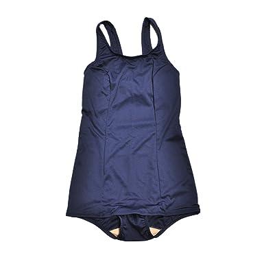 10f61d966eba7  KASAJIMA  女子 スクール水着 女児用 ワンピース スイミング 水泳 スイムウェア ジュニア キッズ 紺色