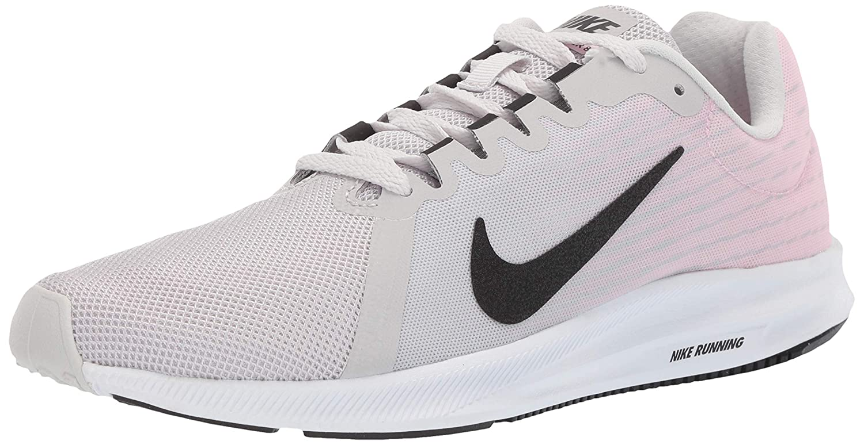 0eede9b870e14 Nike Women's Downshifter 8 Running Shoe White 9 Regular US