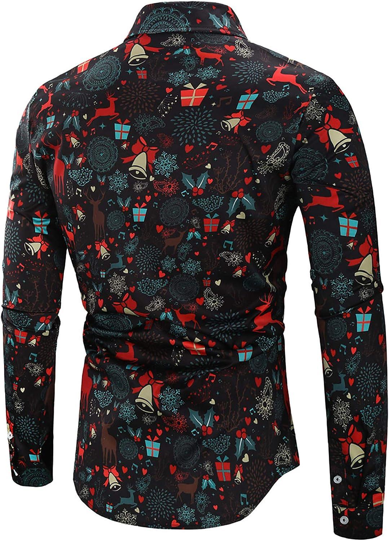 Derrick Aled(k) zhuke Camisa De Navidad para Hombre Camisa De ...