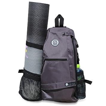 6fc6bdb39859 Aurorae Yoga Multi Purpose Cross-body Sling Back Pack Bag. Mat sold  separately.