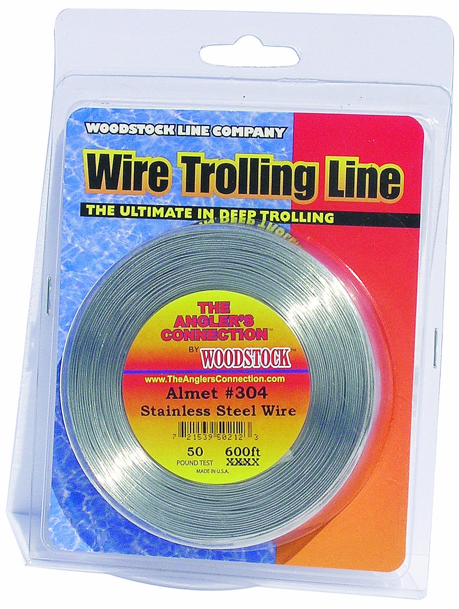 Woodstock Fishing Line Almet 304 Stainless Steel Fishing Wire WOOGO A304-1000-10-19