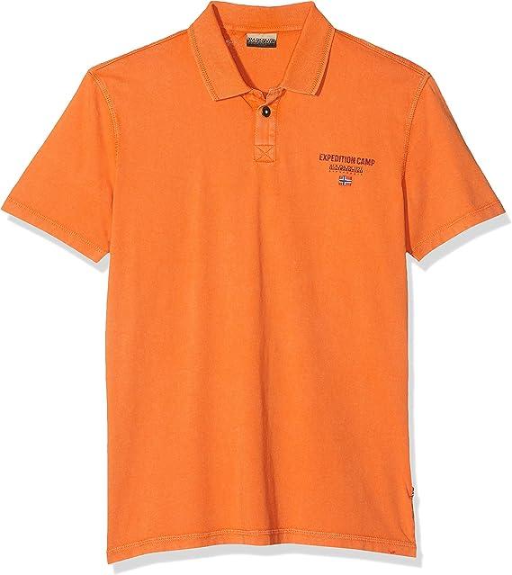 Napapijri Eonthe Amber Orange Polo Homme: