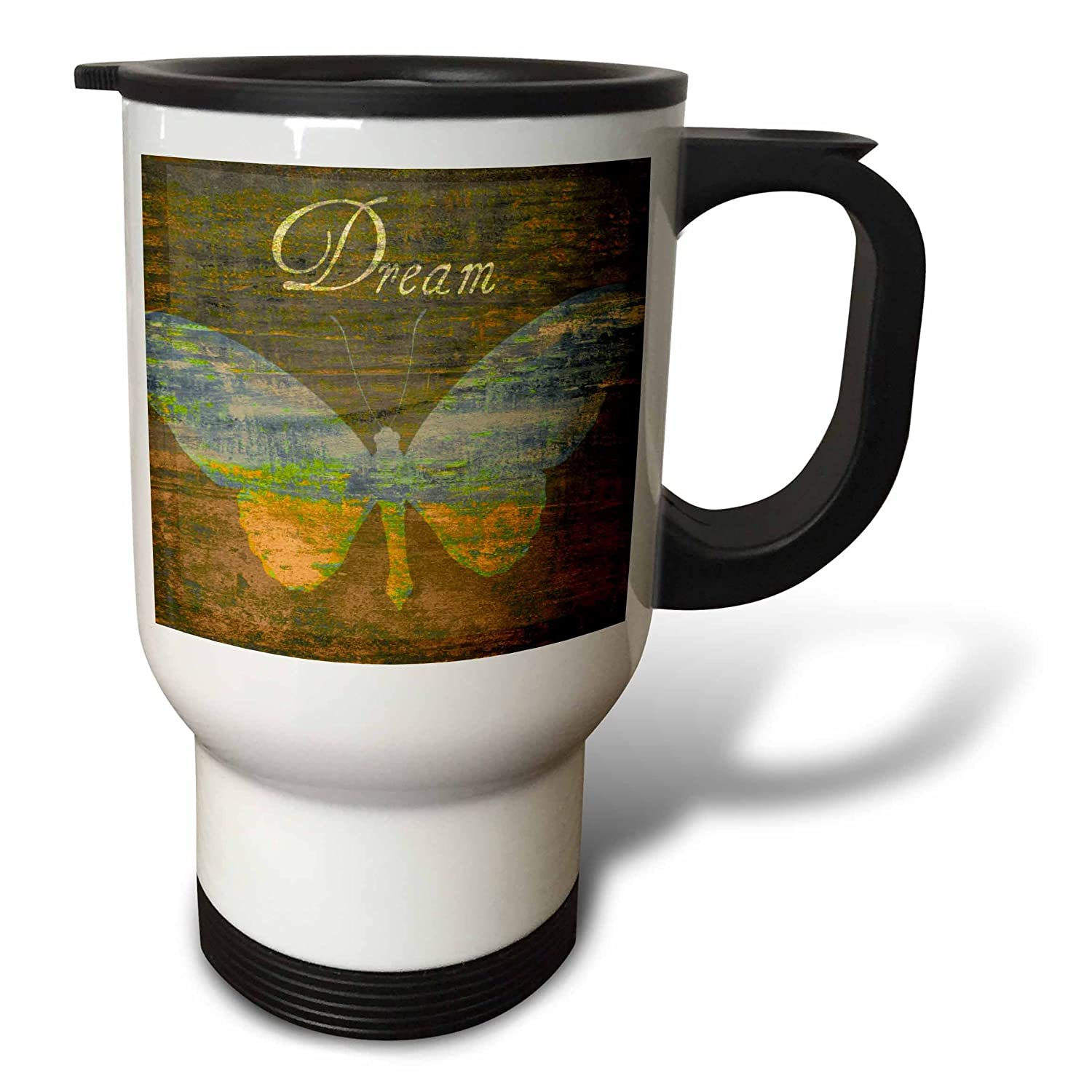 Buy 3drose Bronze Dream Butterfly Inspirational Words Art Stainless Steel Travel Mug 14 Ounce Online At Low Prices In India Amazon In