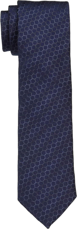 Cravate 6 cm nid dabeille Bleu fonc/É