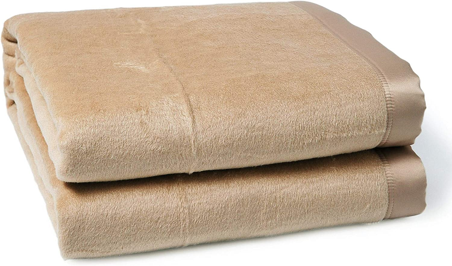 """CUDDLE DREAMS Silk Blanket for All Seasons, Premium Mulberry Silk, Naturally Soft, Breathable (Taupe, Full/Queen 90"""" × 90""""): Home & Kitchen"""