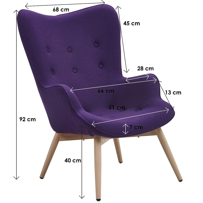 Wohnzimmer sessel mit armlehne m belideen for Sessel mit ohren