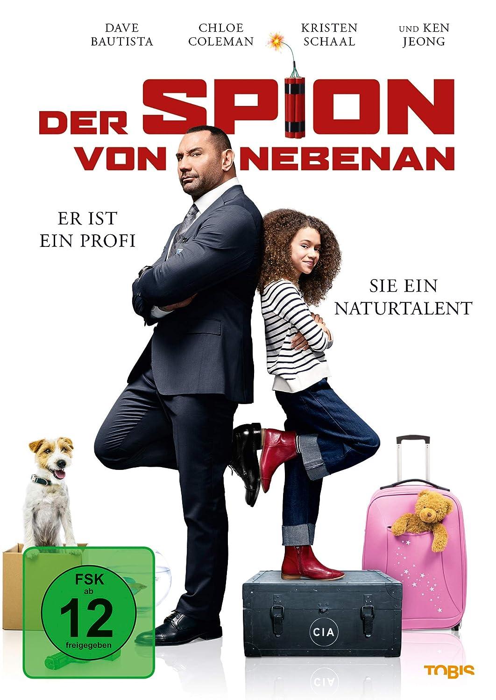 Cover: Der Spion von nebenan - Er ist ein Profi. Sie ein Naturtalent 1 DVD-Video (circa 97 min + circa 40 min Bonusmaterial)