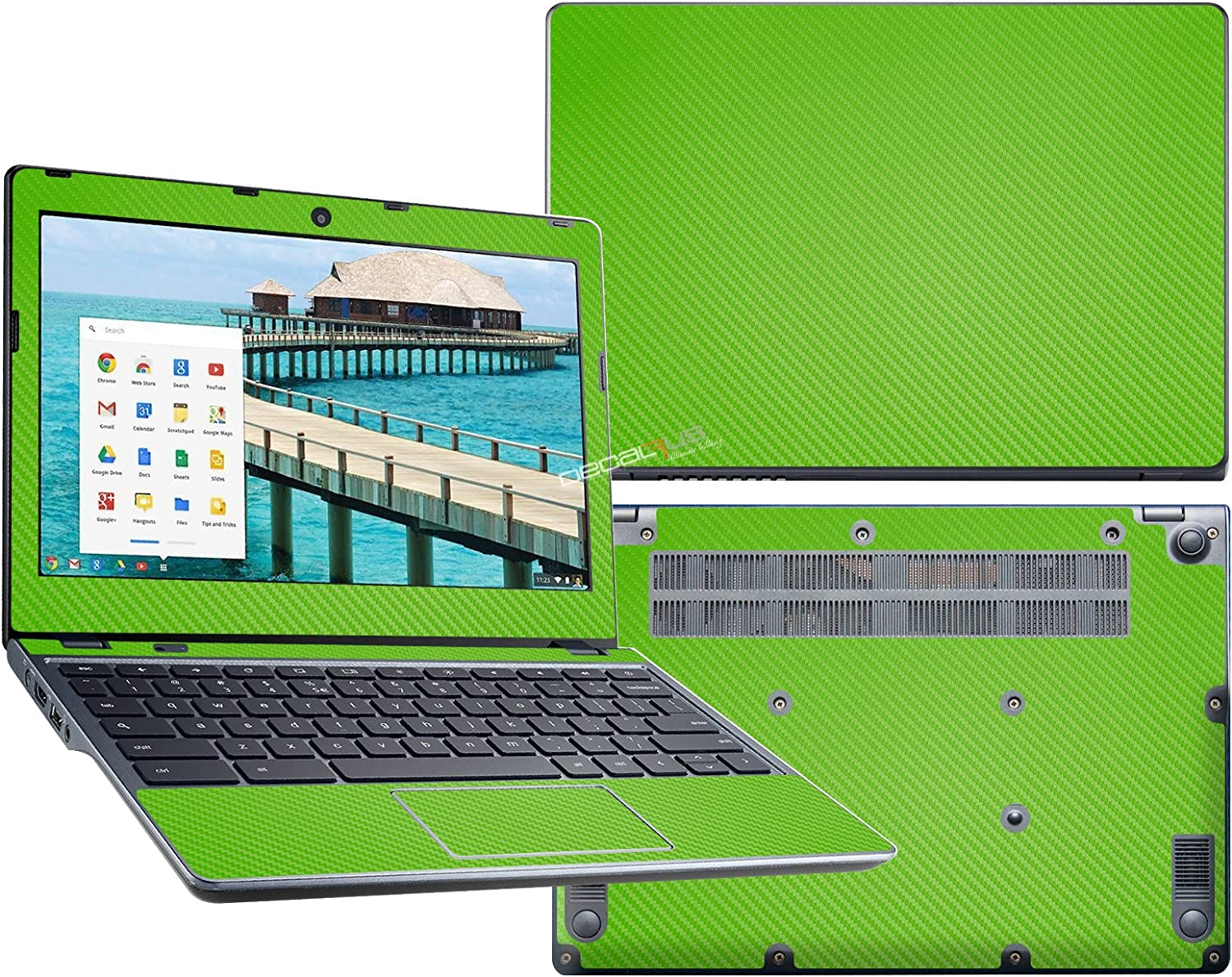 decalrus - Protective Decal for Acer Chromebook 11 C740 (11.6