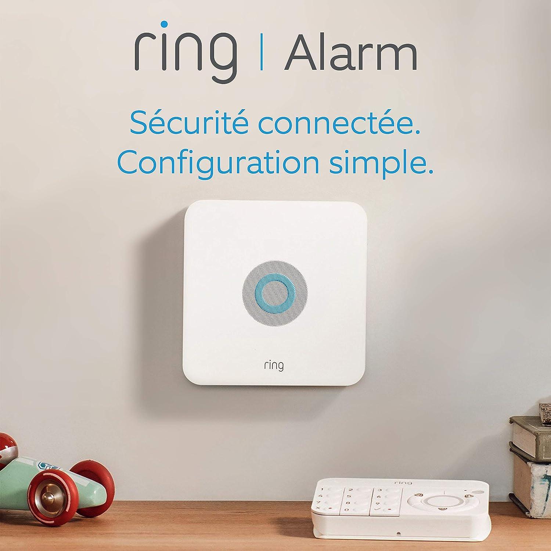 Ring Alarm Kit 5 pièces, Système de sécurité domestique avec surveillance assistée...