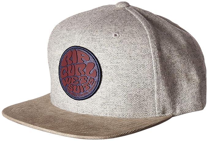 d08b703cd41a0 Amazon.com  Rip Curl Men s Wettie Heritage Snapback Beige 1SZ  Clothing
