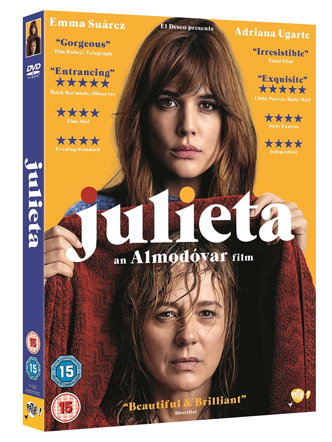 Amazoncom Julieta Dvd 2016 Movies Tv