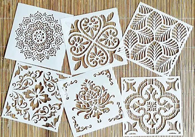 Laser Cut STENCIL Fast Shipping Reusable Multiple Sizes Love Daily International More