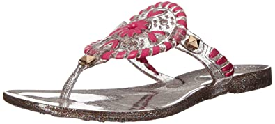 5383f61167fc Jack Rogers Girls  Miss Sparkle Georgica Jelly Sandal