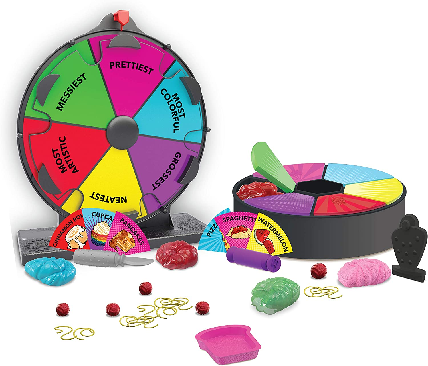 Collins Key Fake Food Mystery Challenge Wheel