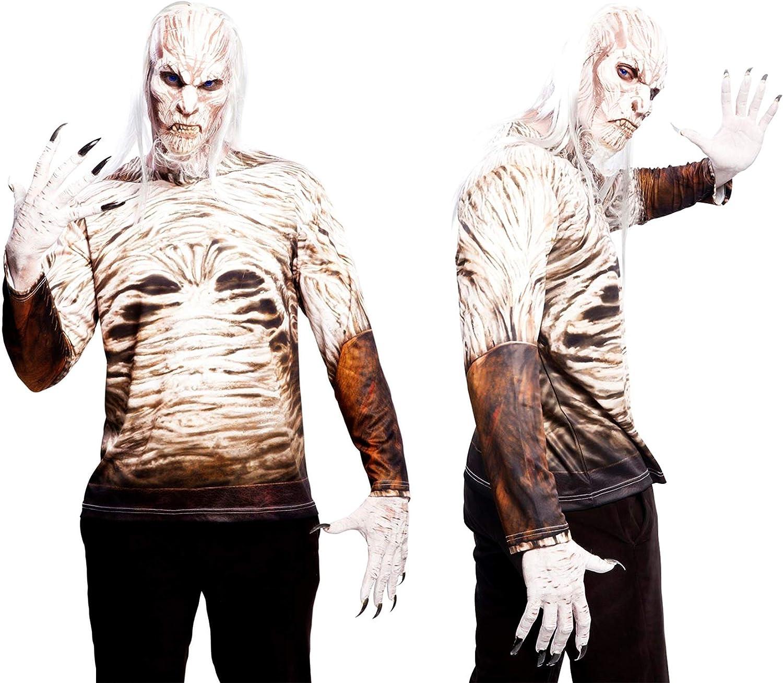 Yiija Fast Fun - Disfraz camiseta Walker, para adultos, talla M ...