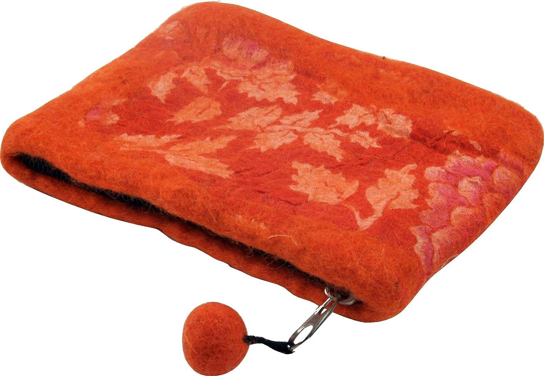 Guru-Shop Monedero de Fieltro - 4, Unisex - Adultos, Naranja ...