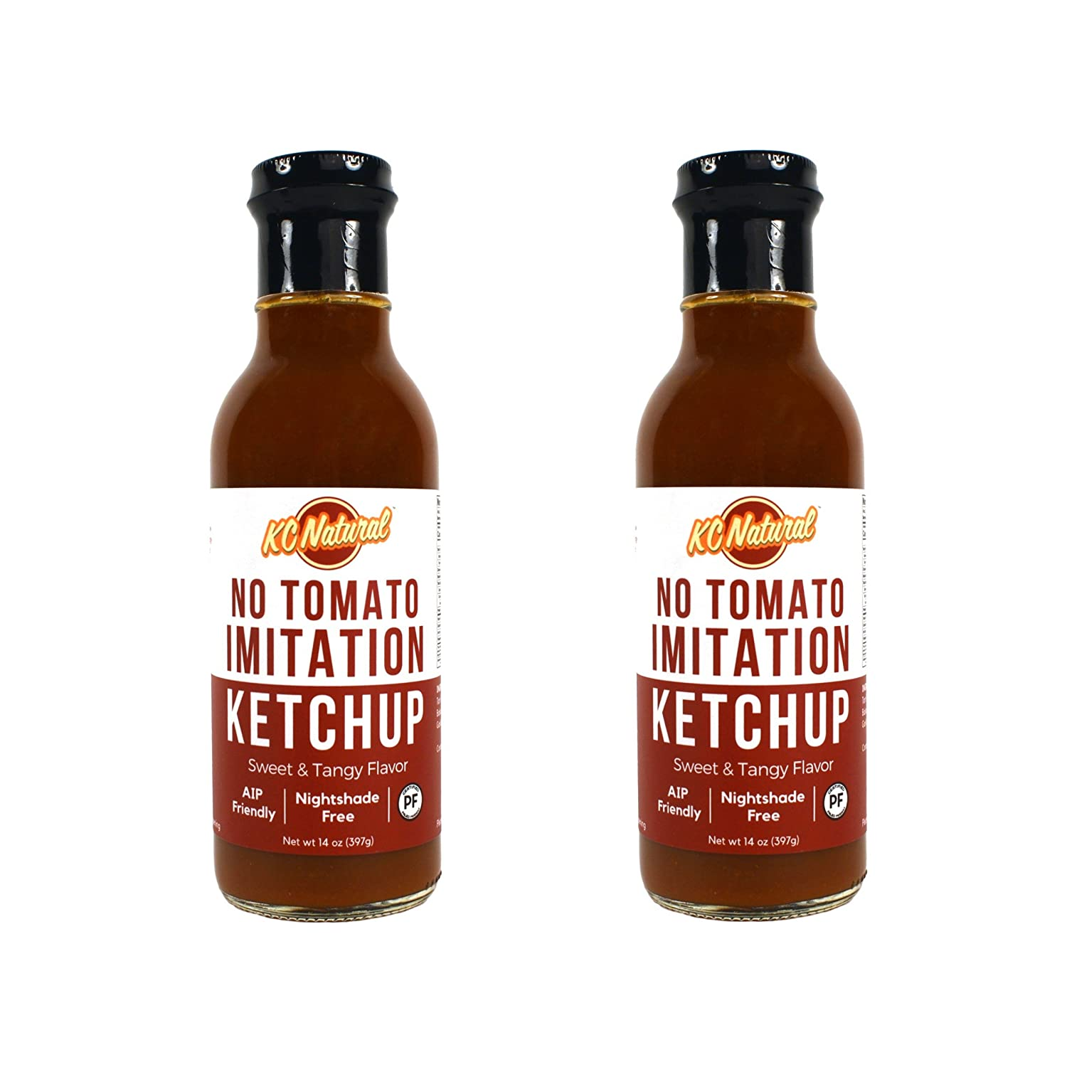 da97b987be72a5 Amazon.com : KC Natural - Paleo AIP Barbecue Sauce 14 oz, Combo Pack  (Mastodon and Primal Cherry) : Grocery & Gourmet Food