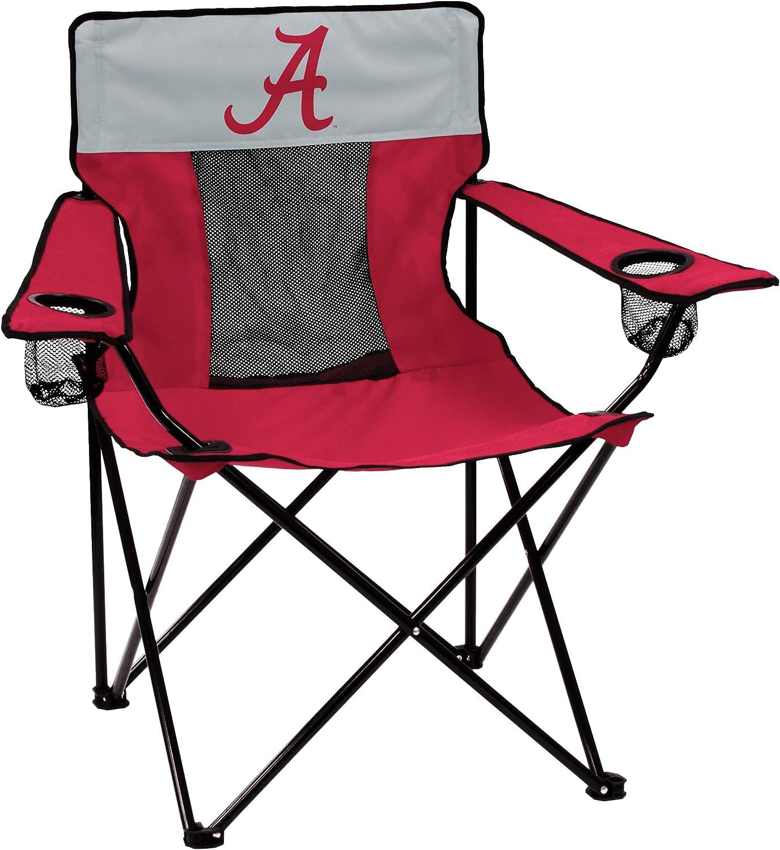 NCAA Logo Brands Alabama Crimson Tide Elite Chair, Alternate Color