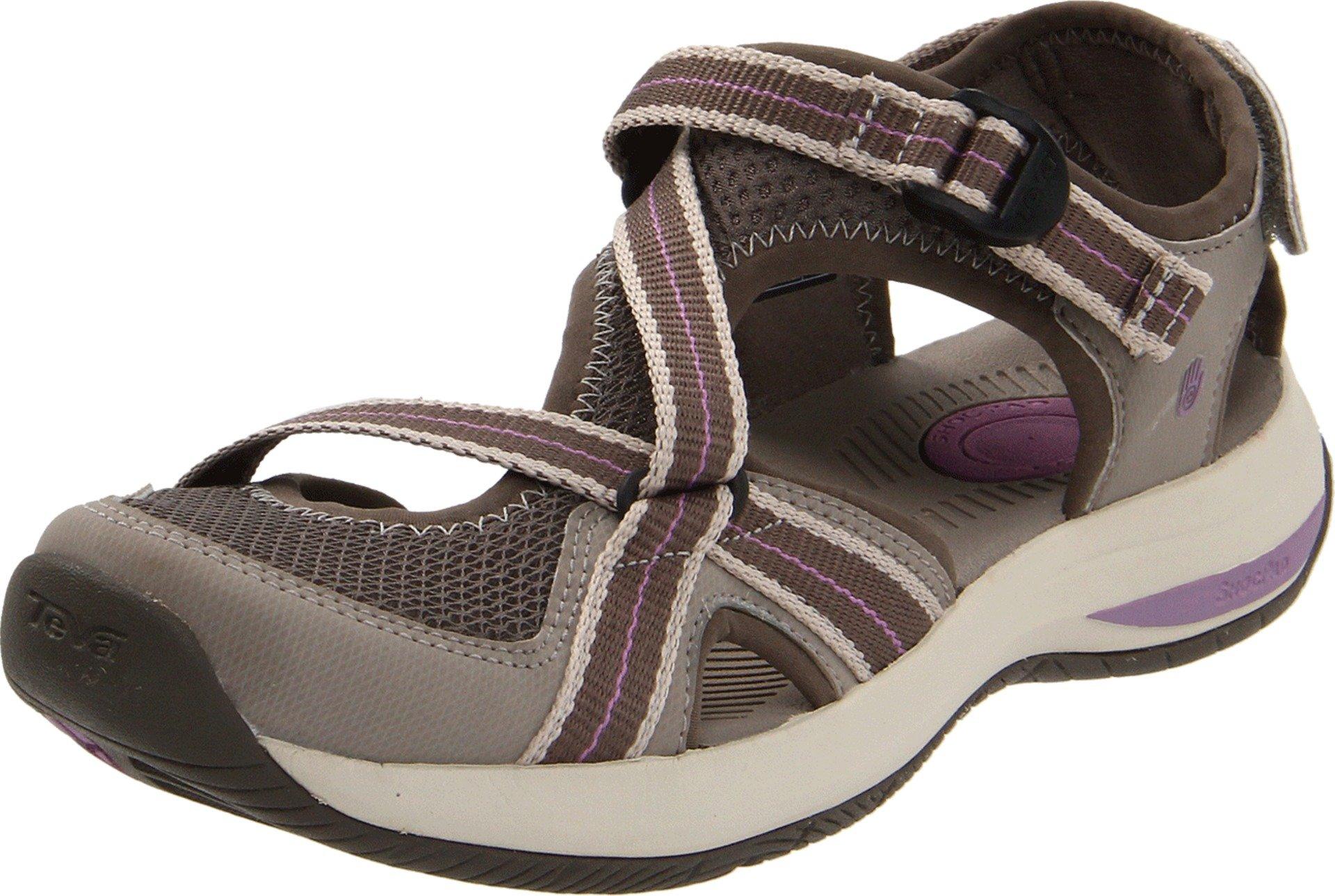Teva Women's Ewaso Sandal,Brown,5.5 M US