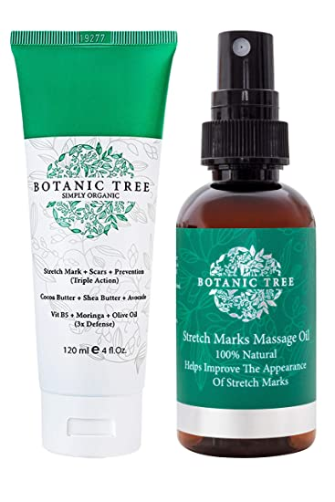 Amazon Com Stretch Mark Cream Removal Buy 1 Get 1 Natural Stretch Mark Oil Free Pack Of 2 It Helps To Decrease Stretch Marks In 93 Of Customers In 2 Months Helping Scars And Prevention Contains