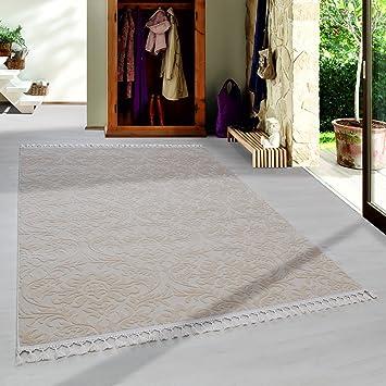 Amazon De Simpex Hochwertiger Acryl Teppich In Barock Stil Mit