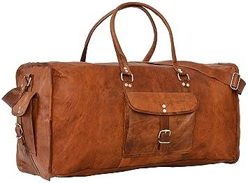 Gusti Cuir nature  quot Oscar quot  sac de voyage en cuir bagage à main  bagage fc01497d8df