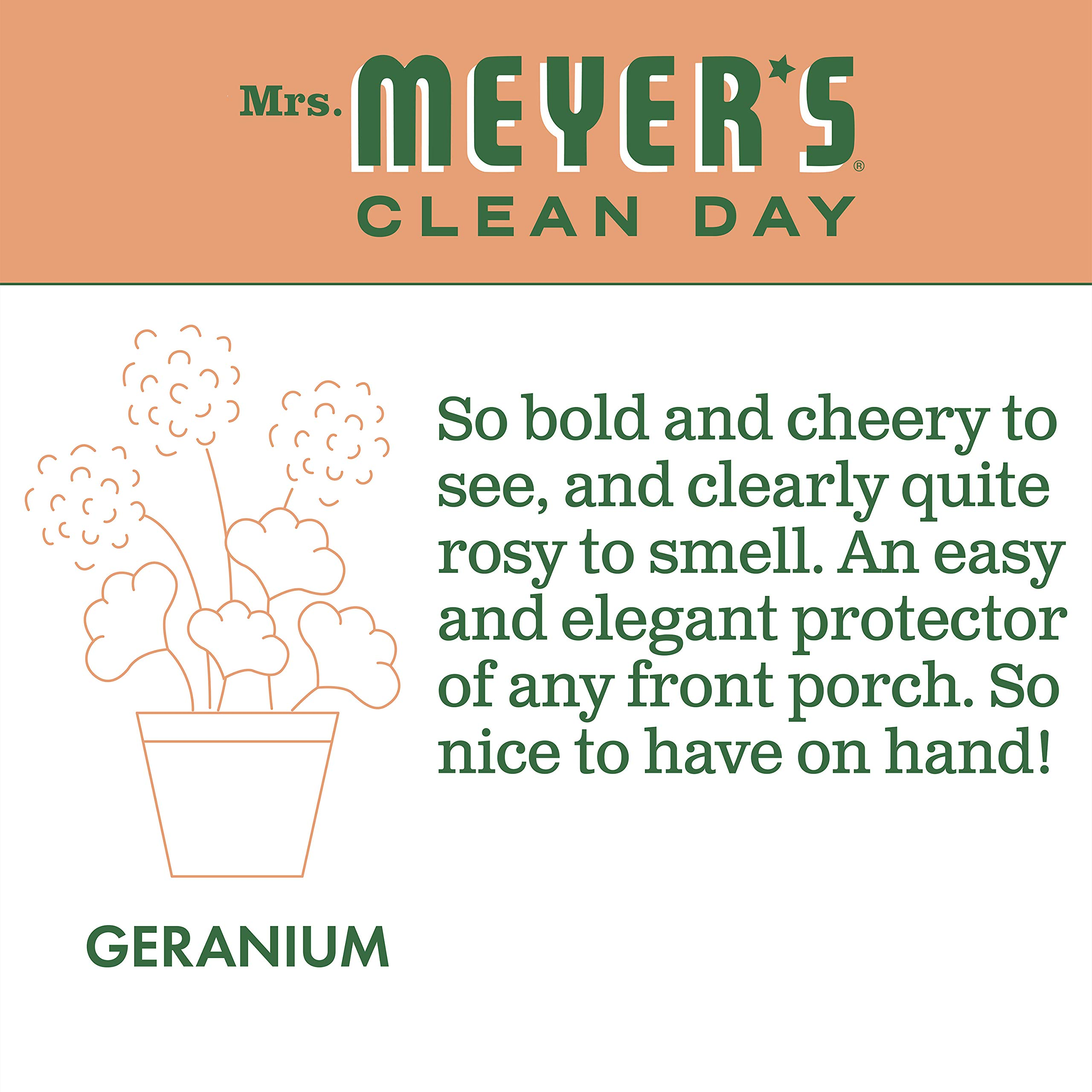 Mrs. Meyer's Clean Day Multi-Surface Concentrate, Geranium, 32 fl oz, 2 ct by Mrs. Meyer's Clean Day (Image #4)