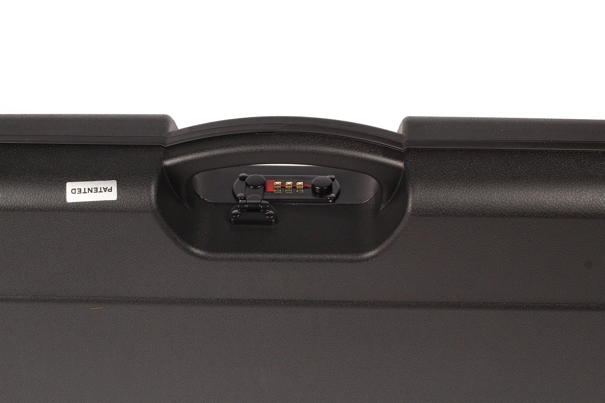 Negrini Cases 1603I/5127 UNICASE Universal Shotgun Case fits All Takedown Shotguns/1 Gun/Barrel up to 36 1/2-Inch, Black/Black