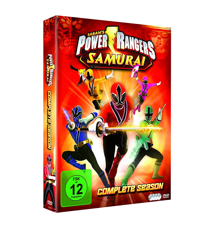 Amazon.com: POWER RANGERS SAMURAI - MOVIE [DVD] [2011 ...