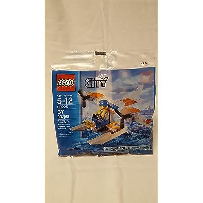 LEGO, City, Coast Guard Seaplane Bagged (30225): Toys & Games
