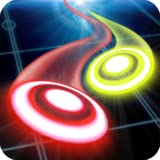 2 player games online - Glow Air Hockey Space