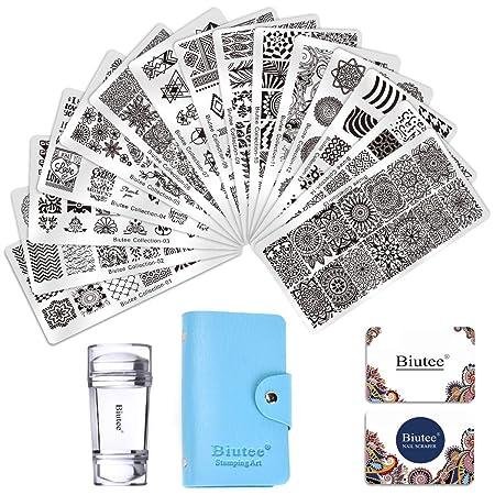 Biutee Nail Art Stamping Kit