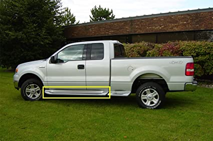 Amazon Com Owens Products 3144 Glastep Plus Custom Molded Fiberglass Gray Running Boards 04 14 Ford F150 W O Flares Excluding 04 Heritage Extended Cab Fiberglass Gray 1 Pack Automotive