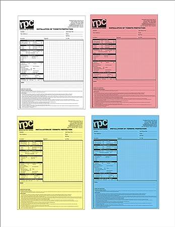 JDCMYK A SizeXcm Pcslot Custom Print Carbonless Paper - Custom carbonless invoice book