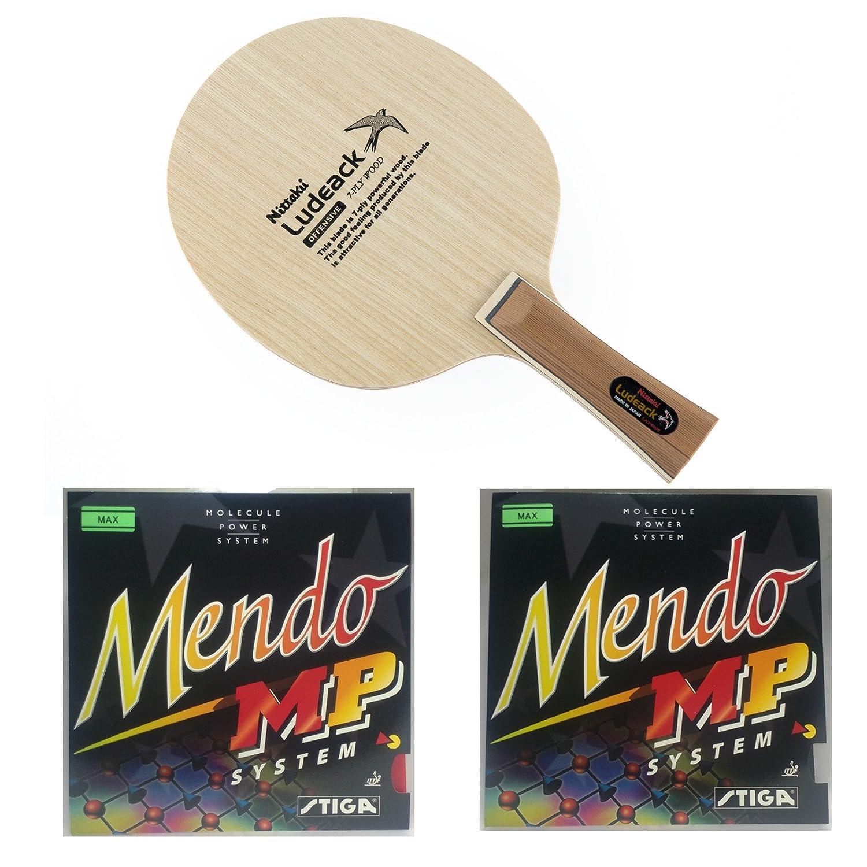 Nittaku LUDEACK + Stiga Mendo MPコンボ。   B01LNEL20S