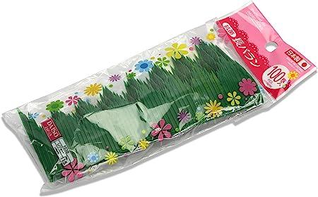 Paquete de 100 separadores de sushi japoneses, láminas baran para cajas bento (típicas cajas japonesas de comida), extralargas: Amazon.es: Hogar