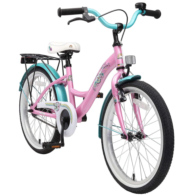 BIKESTAR Premium Sicherheits Kinderfahrrad 20 Zoll für Mädchen ab 6-7 Jahre   20er Kinderrad Classic   Fahrrad für Kinder
